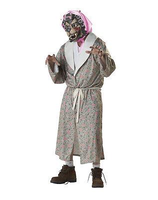 Adult Gorilla Werewolf Grandma Wolf Granny Costume  One Sz