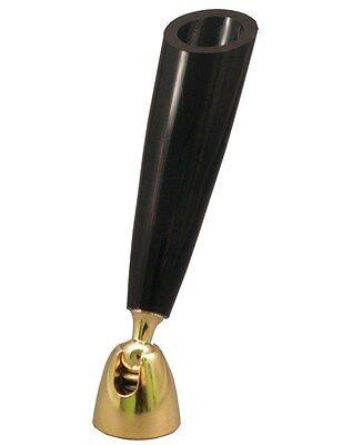 Desk Pen Holdertrophy Award Part Qty1 Black Plastic Funnelgold Swivelscrew