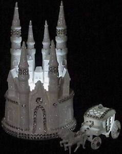 cinderella castle royal wedding cake topper cinderella wedding cake topper ebay 12852