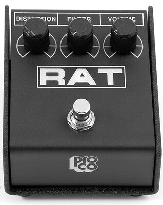 Pro Co Rat 2 Distortion Pedal (Rat 2 Guitar Effects Box w/LED) on Rummage