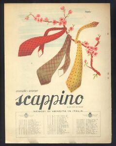 Pubblicita-originale-1942-Germani-Scappino-cravatte-sciarpe-R
