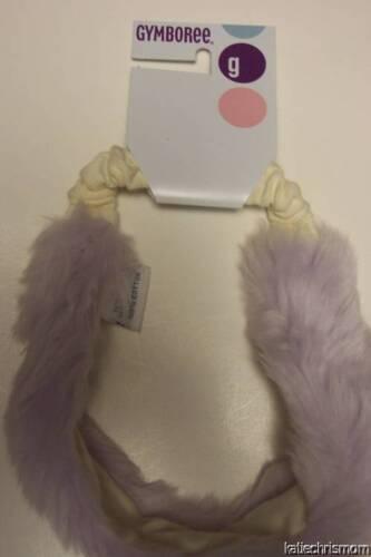 Gymboree Apres Ski Beautiful Lavender Faux Fur Headwrap One Size Fits Most
