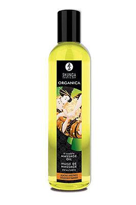 Aceite de masaje orgánico comestible unisex Almendras dulces Shunga 250 ml