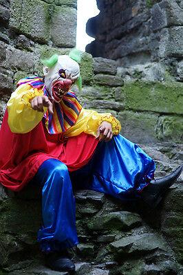 Halloween/Horror/gruselig/Killer Böser Clown Maskenkostüm Größe sml-xxxxl