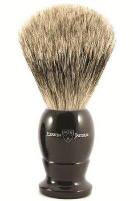 Edwin Jagger Imitation Ebony, Large, Best Badger Shaving Brush +