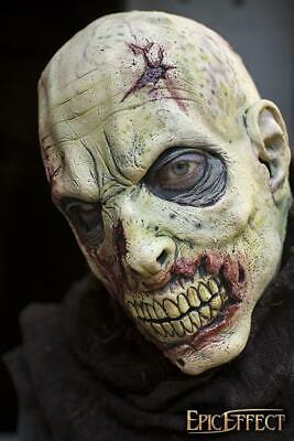 Fantasy Zombie Scarface Mask in Latex for Stage, Costume, Re-enactment & LARP