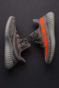 Adidas Yeezy Boost 350 V2 Beluga Grey Red sz 7