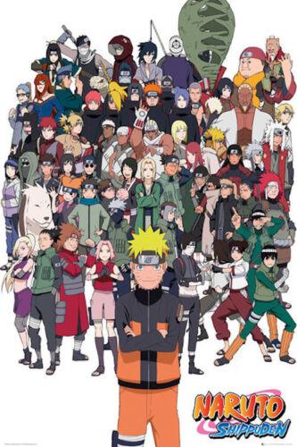 Naruto Shippuden 24 x 36 inch Anime Poster