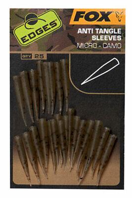 Fox Edges Camo Micro Anti Tangle Sleeves Karpfenangeln NEW OVP