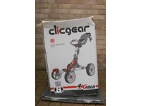 Clicgear 8.0 cart - brand new, in black