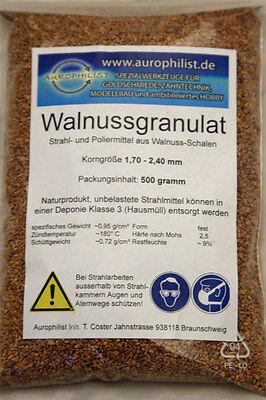 WALNUSSGRANULAT zum Reinigen und Polieren 500g, GP 4,98€ 1kg, Nagelneu!