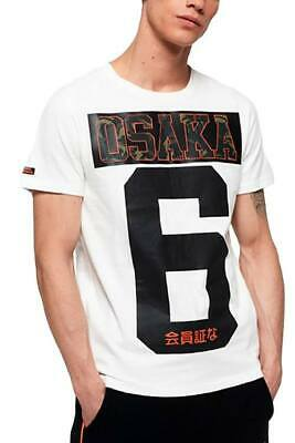 "SuperDry Optic-White Osaka Tee N1 ""Large"""