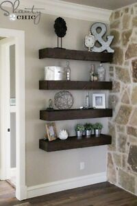 Handcrafted Floating Shelves London Ontario image 1