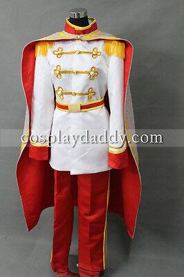 Adult Prince Eric Costume (The Little Mermaid Prince Eric Costume Adult Halloween Cosplay)