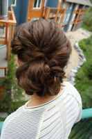 Experienced wedding and special event hairstylists