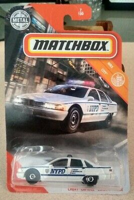 Matchbox Chevy Caprice Classic Police NYPD Brand New Unopened