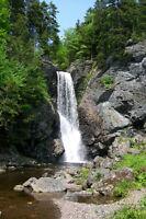 North River Falls/Little York RD Five Islands WARNING
