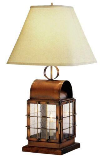 Nautical Brass Lantern Table Lamp