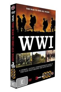 WW I - The War To End All Wars (DVD, 2009, 3-Disc Set)