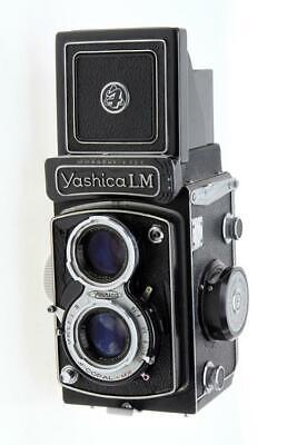 Yashica LM Medium Format Camera With Yashikor 80mm F3.5 Lens - $67.00