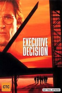 Executive-Decision-DVD-1999-Region-4-Action-Adventure-DVD-Rated-M-Used-in-VGC