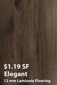 BLOWOUT SALE 12 mm Laminate Flooring From $1.19