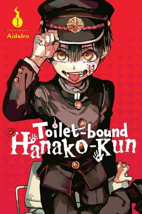 Toilet bound Hanako kun (Vol. 1,5,7,9) English Manga Graphic Novels Set New
