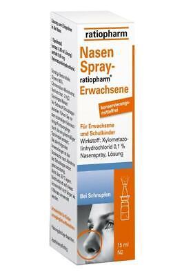 NasenSpray-ratiopharm Erwachsene konservierungsmittelfrei 15 ml PZN: 0999848