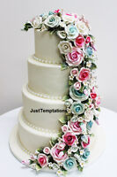 Custom Wedding Cakes, sweet tables and chocolate fountains