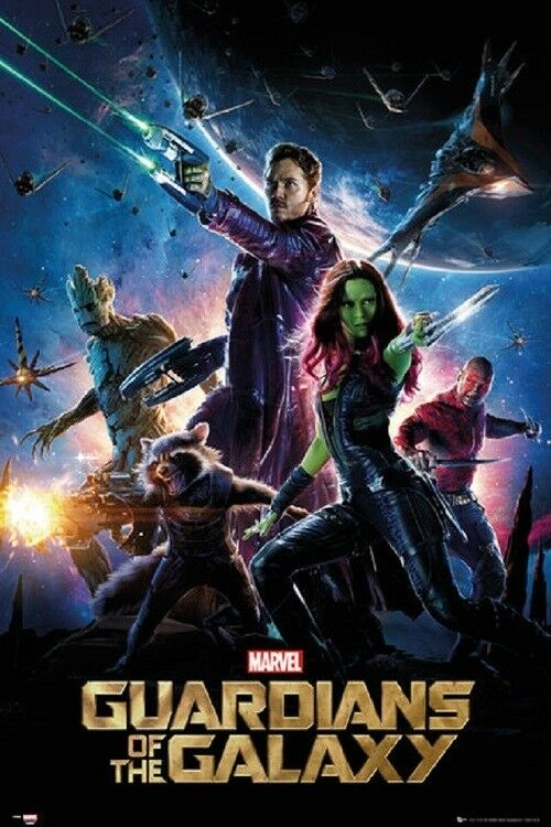 GUARDIANS OF THE GALAXY - ONE SHEET MOVIE POSTER 24x36 - MAR