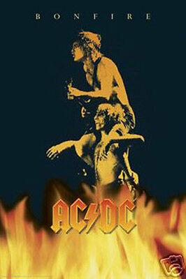 #614 AC-DC Bonfire Poster 24X36