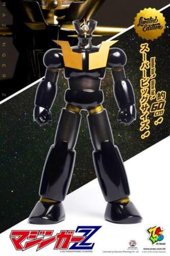 MAZINGER  Z JUMBO GOLD AND BLACK SIZE FIGURE [LIMITED EDITION].
