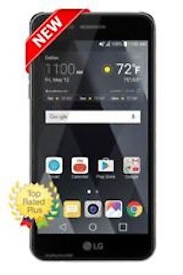 New LG Phoenix 3 AT&T Prepaid 4G LTE 16GB Phone Best Seller Fast Free (Best At&t Cell Phones Touch Screens)