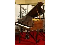 Crown Jewel Art Case East Indian Rosewood Steinway M King Louis XV w PianoDisc IQ Player System