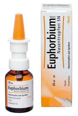 Euphorbium comp. Nasentropfen SN Dosierspray 20 ml PZN: 1230044