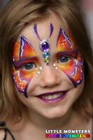 Little Monsters Face Painting