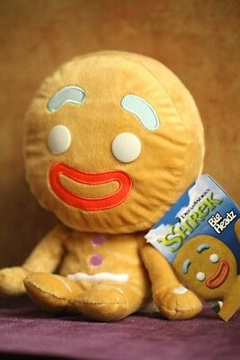 GINGY GINGERBREAD MAN SHREK BIG HEADZ PLUSH DOLL