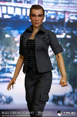 Triad Toys Bliss Streak  Gray  Female Outfit Set 1 6Th Sixth Scale