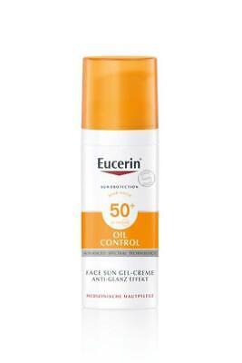 Eucerin Oil Control Face Sun Gel-Creme LSF 50+ 50 ml PZN: 10832664