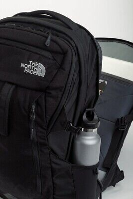 $148 North Face Router Laptop Backpack 41L Black Felt Pockets 15in Laptop