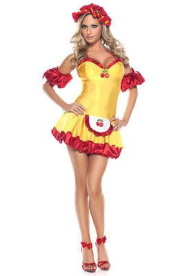 BE WICKED sexy SWEET cherry TART cuddler STRAWBERRY shortcake HALLOWEEN costume](Sweet Tart Halloween Costume)