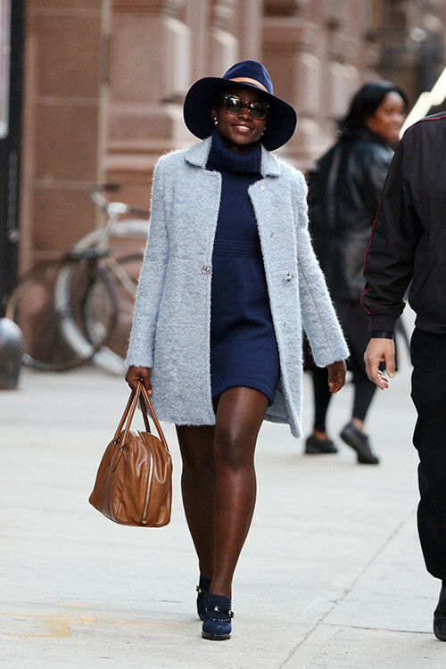 Lupita Nyong'o channels 70s sophistication