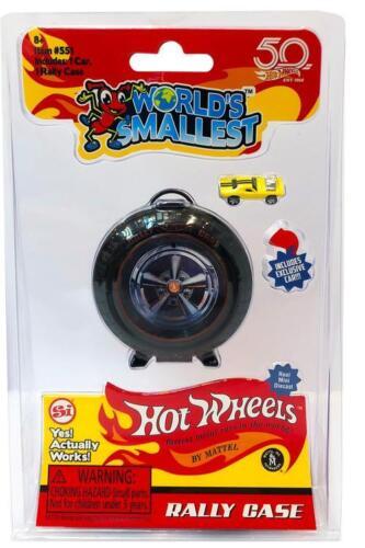 Worlds Smallest Hot Wheels 1968 Super Rally Case Miniature Size Super Impulse
