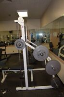 Commercial quality gym equipment