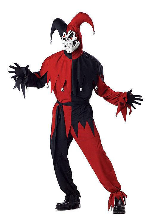 Evil Jester Costume Adult Size X-Large