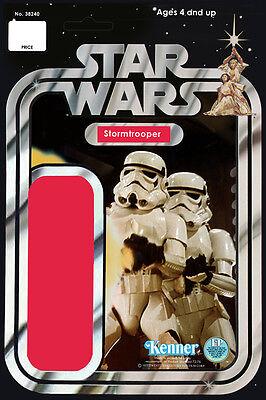 Star Wars Life Size Stormtrooper Action Figure Card Back Banner