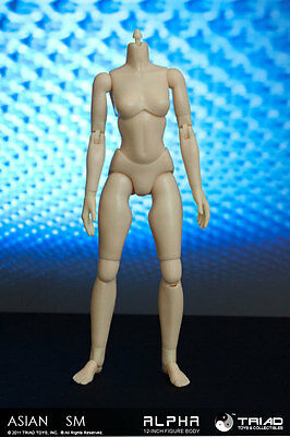 Triad Toys Headless Asian Smb Alpha Sixth 1 6Th Scale Female Body