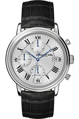 Raymond Weil Maestro Chronograph Automatic Stainless Steel Watch 7737-STC-00659