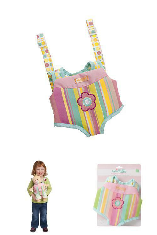 Manhattan Toy Baby Stella Snuggle Up Front Carrier Baby Doll