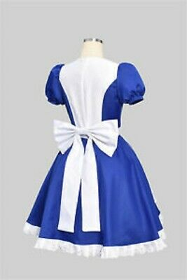 Alice Madness Returns Halloween Costume (Alice Madness Returns Princess Dress Maid Dress Made Cosplay Costume)